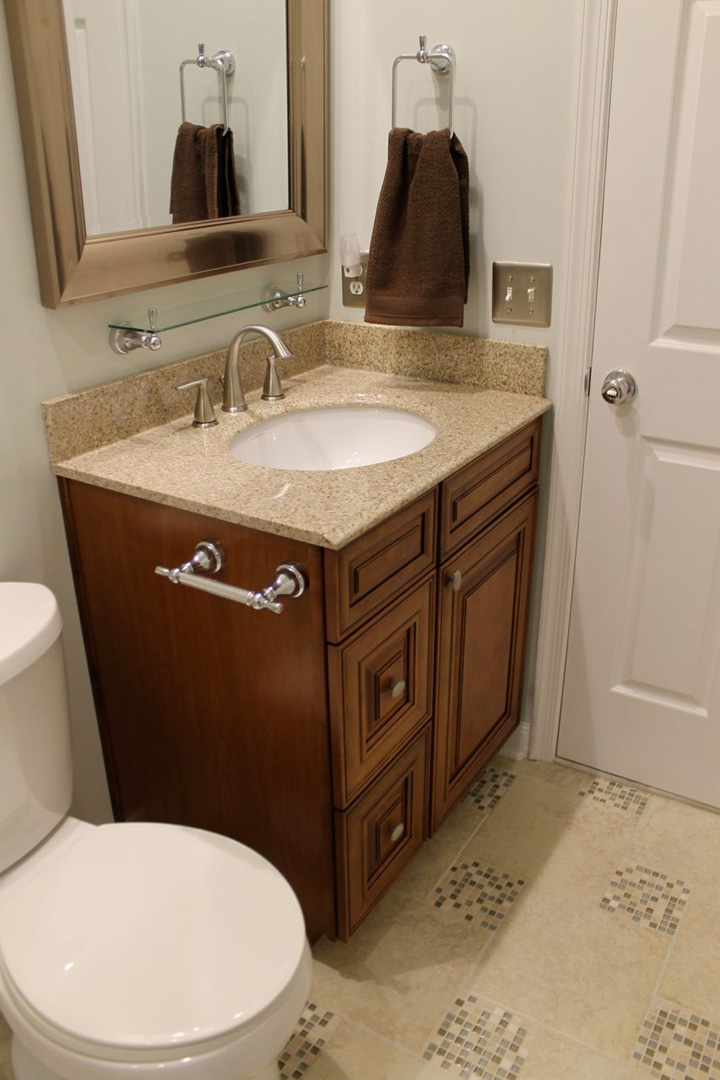 Bathroom remodel in gainesville va by ramcom kitchen for Bathroom remodel gainesville fl