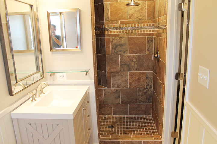 walk in shower walk in shower master bath remodel - Bathroom Remodeling Fairfax Va