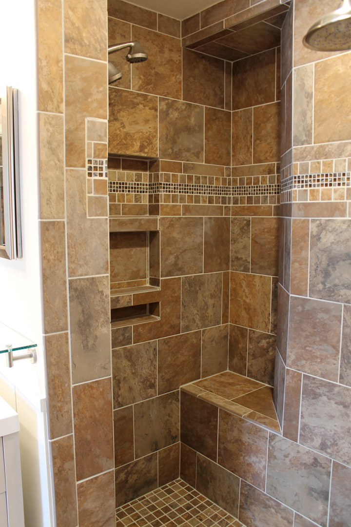 Bathroom remodeling fairfax va contractors ramcom for Kitchen and bath contractors