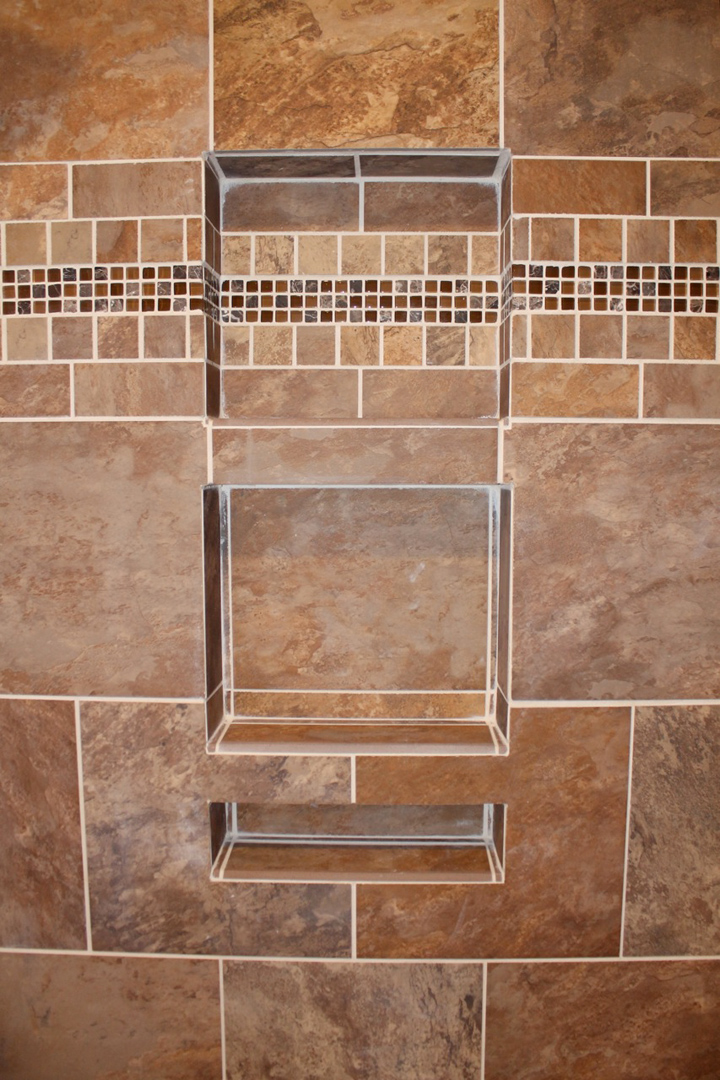triple shower niche - Bathroom Remodeling Fairfax Va