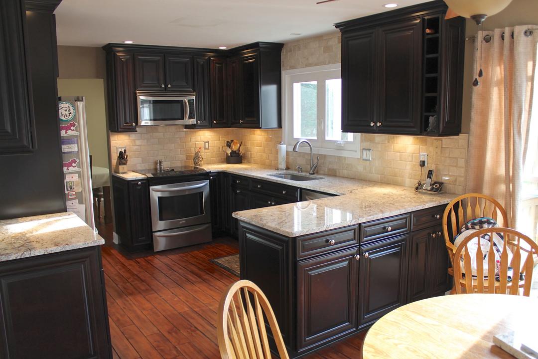 Kitchen Remodel In Gainesville Va By Contractors Ramcom Kitchen Bath