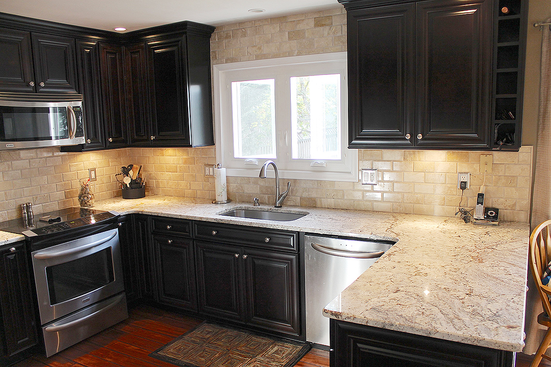 Kitchen remodel in gainesville va by contractors ramcom for Bathroom remodel gainesville fl