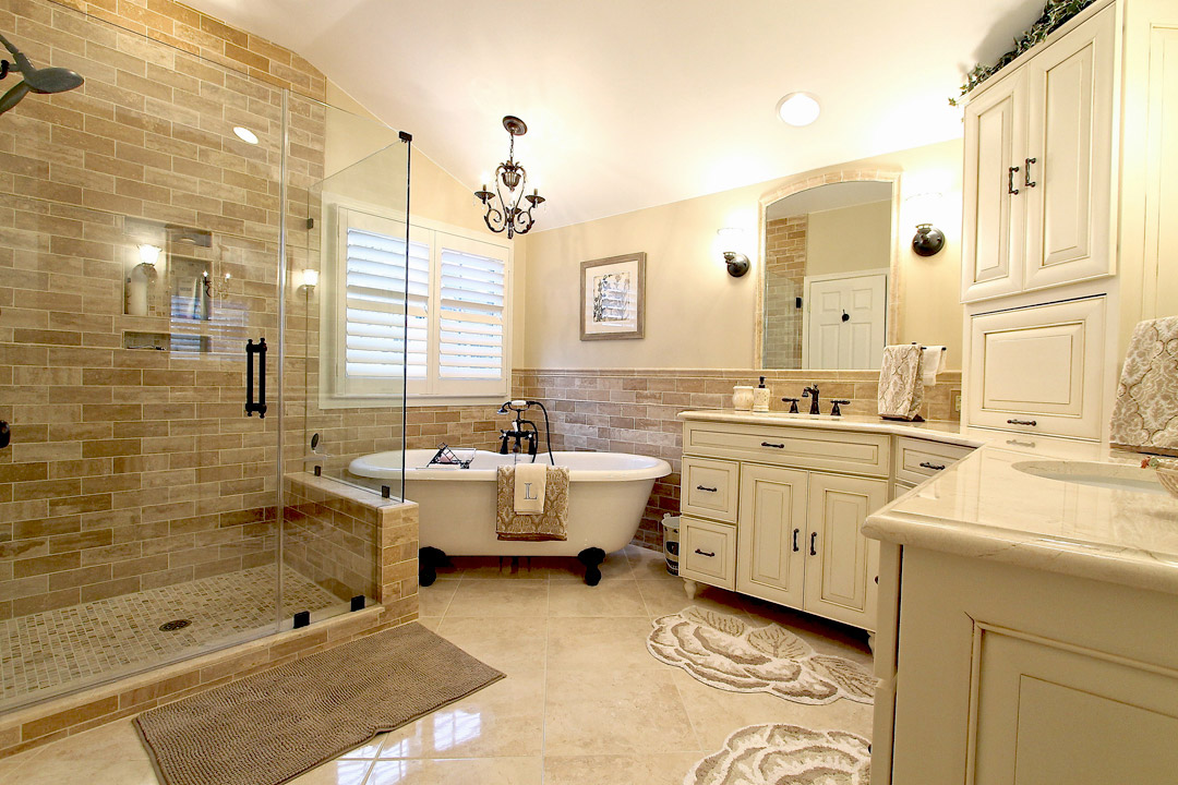 Bathroom Remodel By Gainesville VA Contractors Ramcom Kitchen Bath Best Bathroom Remodeling Va Collection