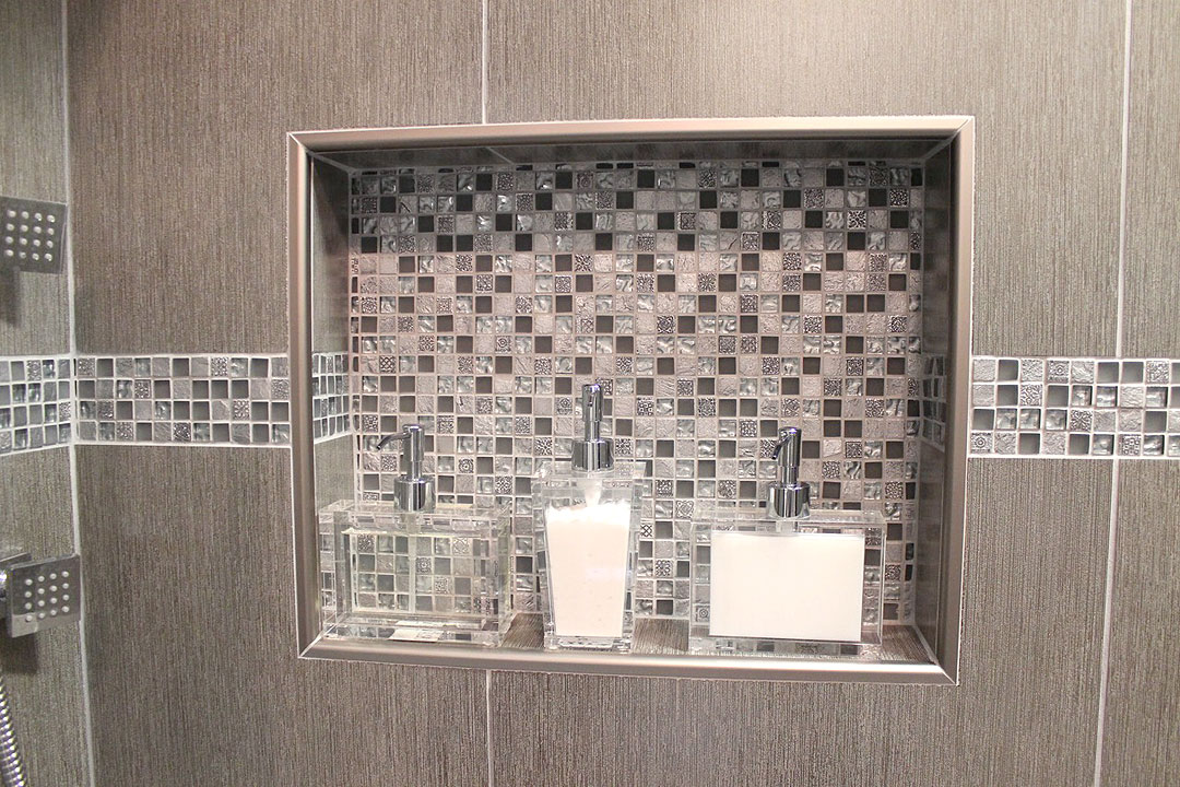How To Design And Build A Shower Niche By Ramcom Kitchen
