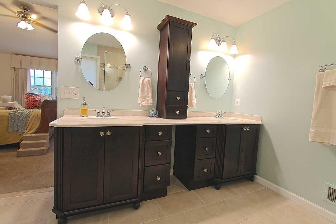 Gainesville VA Master Bathroom remodel by Ram Kitchen