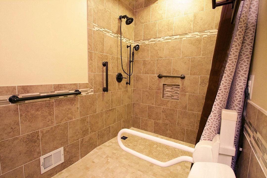 Handicap bathroom remodel culpeper va ramcom kitchen amp bath