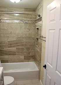 Full bathroom remodel in gainesville va by ramcom kitchen for Bathroom remodel gainesville fl