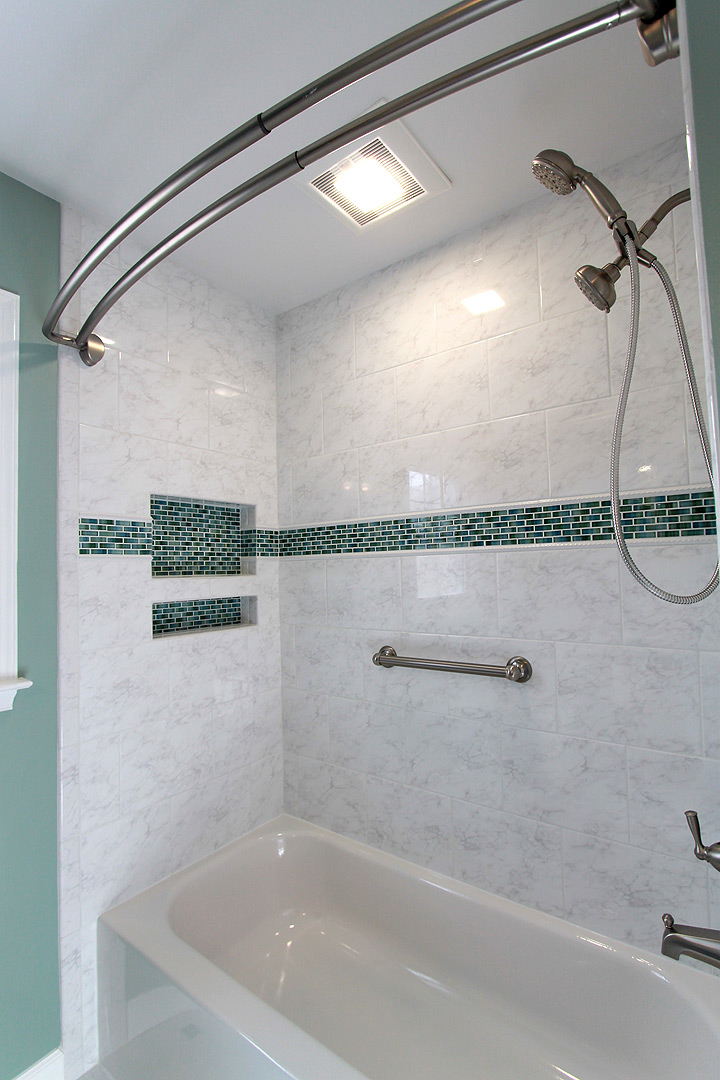 Bathroom remodel, Burke VA contractors Ramcom Kitchen & Bath