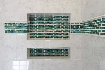 Bathroom shower idea - How To Design And Build A Shower Niche By Ramcom Kitchen