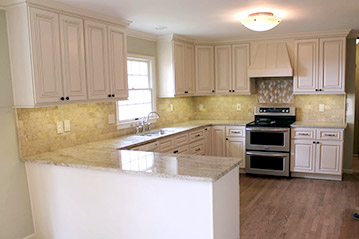 Kitchen remodel in Warrenton, VA