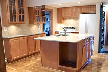 Kitchen remodel in Warrenton, VA by Ramcom Kitchen and B ath